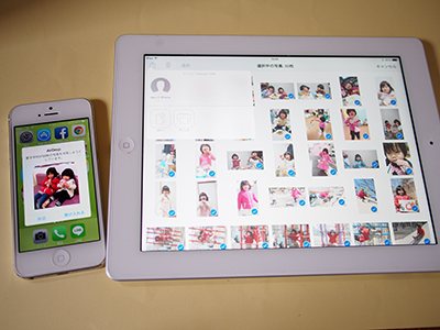 iPhoneiPadのAirDropイメージ