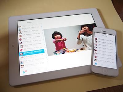 iPhoneiPadのDropbox利用イメージ