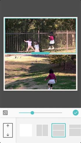 スマホアプリ「Pic Collage」でコラージュ