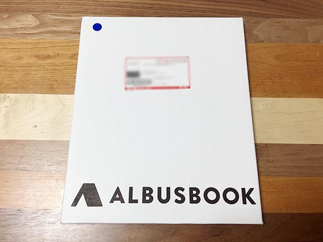 ALBUSBOOKのパッケージ
