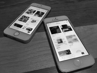 iOS10をインストールしたiPhone5とiPhonese