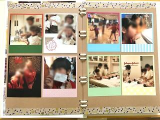 「Instapri(インスタプリ) pinky set.」のフレームプリントで写真アルバムも華やかに