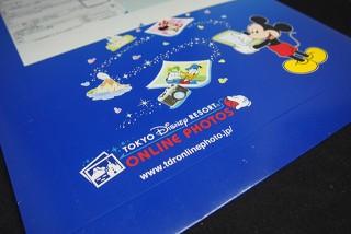 「東京ディズニーリゾート・オンラインフォト」の商品パッケージ