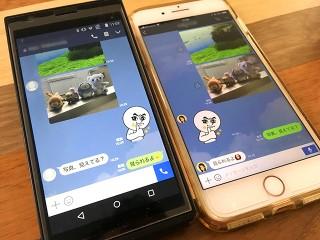 HEIF写真をLINEでAndroidユーザーに送信