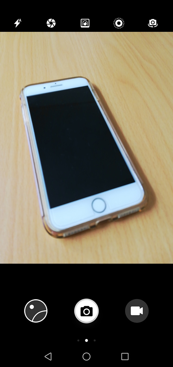 Huawei P20 liteのカメラアプリ