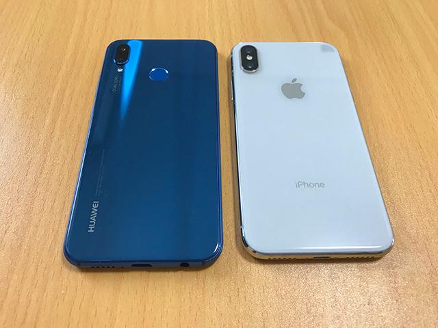 iPhoneとAndroidスマホ