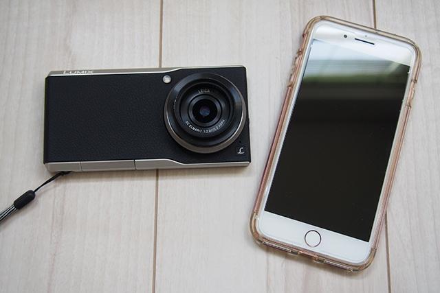 DMC-CM10とiPhone