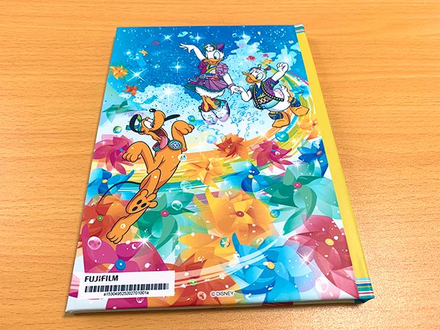 「東京ディズニーリゾート・オンラインフォト」で注文したハードカバーフォトブック