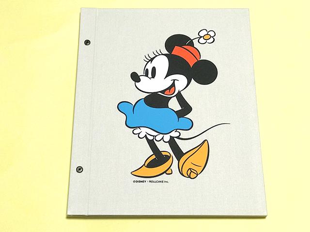ミニーマウスデザインのアルバスブック