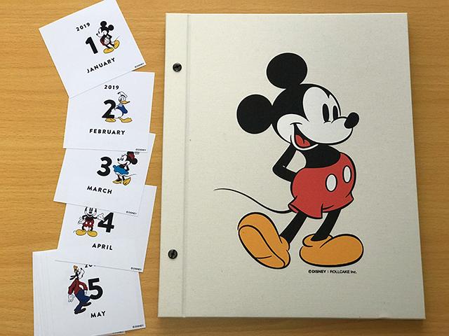 ミッキーマウスデザインのALBUSBOOK
