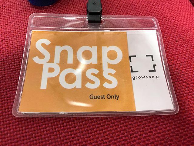 スタジオアリスの「スマホdeスナップ特典」を受けられるSnap Pass
