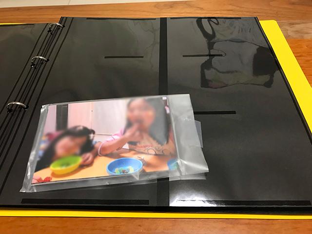 富士フイルムのアルバム「かぞくのきろく」