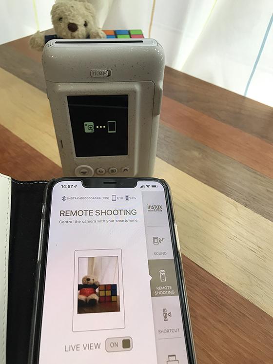 instax mini LiPlay(インスタックス ミニ リプレイ)とスマホを連携