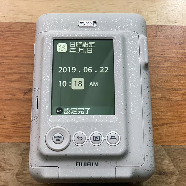 instax mini LiPlay(インスタックス ミニ リプレイ)