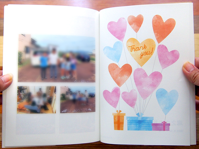 PhotoZINEのBOOKタイプのフォトブック
