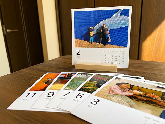 みてねとコラボしたOKURU(オクル)のカレンダー