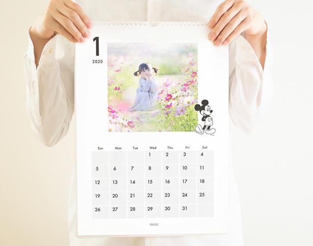OKURU_A3ウォールカレンダー(ディズニー)